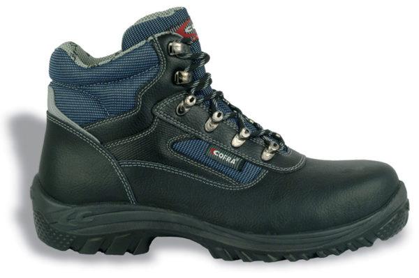 scarpa cofra ruhr-s3-src Scarpa antinfortunistica unisex colore nero-blu