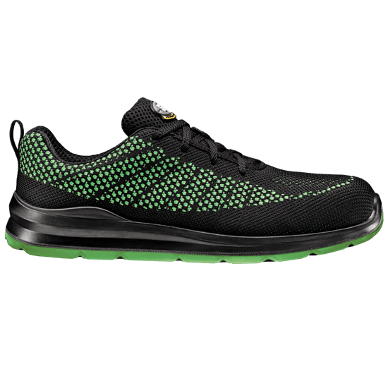 scarpa sir magicfobia Scarpa antinfortunistica unisex colore nero - lime